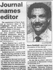 Editor's column: Publisher Rothfeld retires, but legacy endures