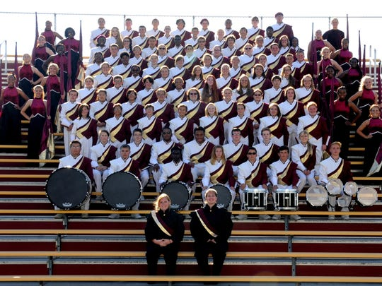 The Licking Heights Marching Band received straight superior ratings at the recent Ohio Music Education Association (OMEA) State Marching Band finals.