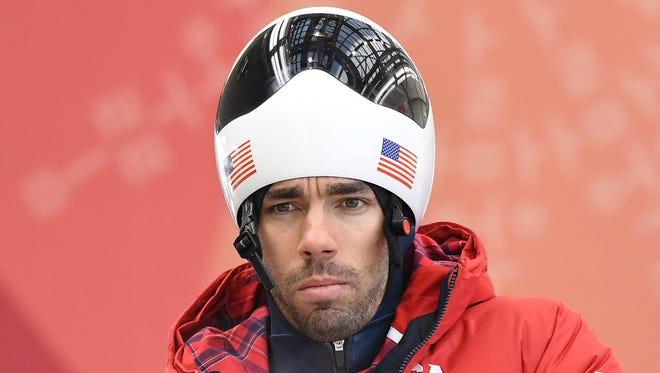 Matt Antoine of Prairie du Chien, Wis., will begin pursuit of another skeleton medal on Thursday.