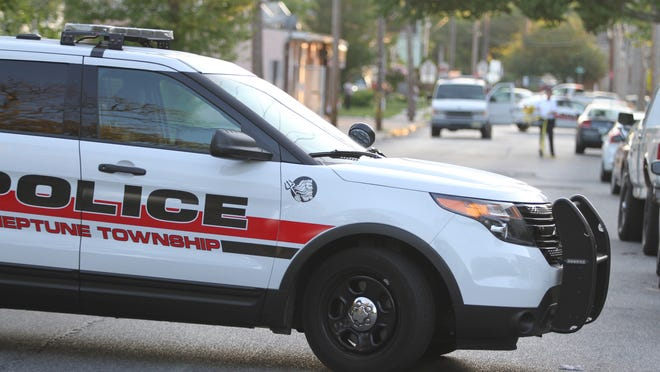 A Neptune police vehicle is seen in a June file photo.