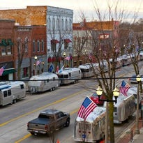 Urban Air, an annual event during which owners of vintage Airstream travel trailers camp in downtown Eaton Rapids, begins Thursday, Sept. 22 and runs through Sunday morning.