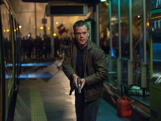 """In this image released by Universal Pictures, Matt Damon appears in a scene from """"Jason Bourne."""""""