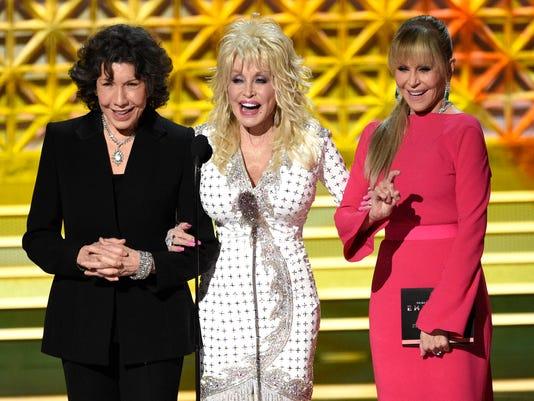 Lily Tomlin, Dolly Parton, Jane Fonda