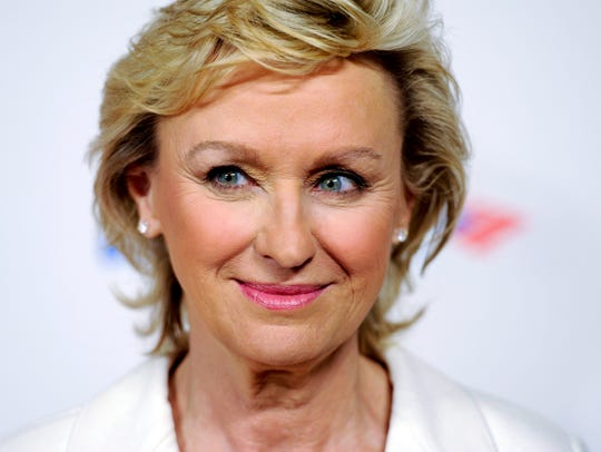 Tina Brown in a 2012 file photo, attending the Women