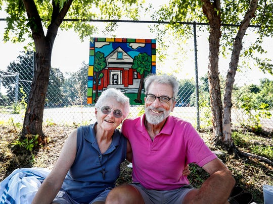 Margery and Roger Wolcott, left their corporate lives on the West Coast and eventually moved to Memphis to start Constance Abbey, a mission of hospitality for the homeless. They rent two houses on Hamlin St., where they live and use to help homeless with food, shelter, showers, clothing.