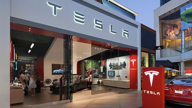 Tesla has a store at Fashion Mall at Keystone. A bill recently introduced in the Indiana General Assembly would ban Tesla's direct sales model.