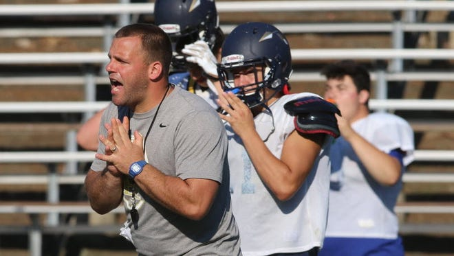 Joe Sabella was hired last week as Paramus' next head football coach. Sabella stepped down as Indian Hills' head coach in January after leading the Braves for seven seasons.
