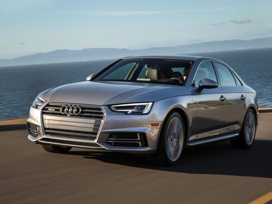 The 2017 Audi A4's ride is comfortable and well composed.