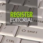 Register editorial
