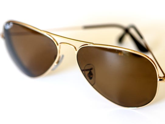 Classic Ray-Ban Aviators is one of Natalia Bishop's