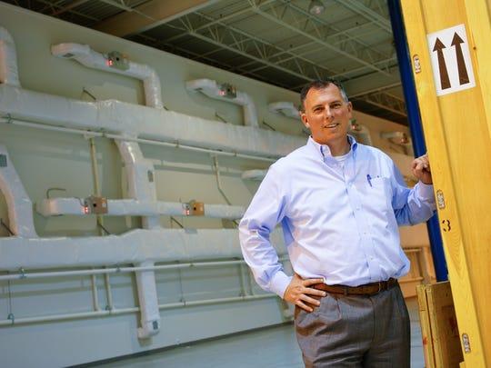 Matt Larmore, vice president of Bayshore Fine Art,