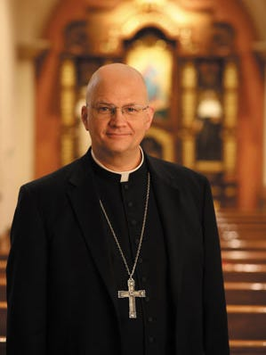 Bishop Edward Joseph Weisenburger is planned to be installed as the new head of the Roman Catholic Diocese of Tucson Nov. 29.