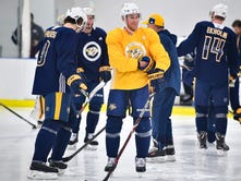 Predators' silent second line needs to step up to beat Winnipeg Jets