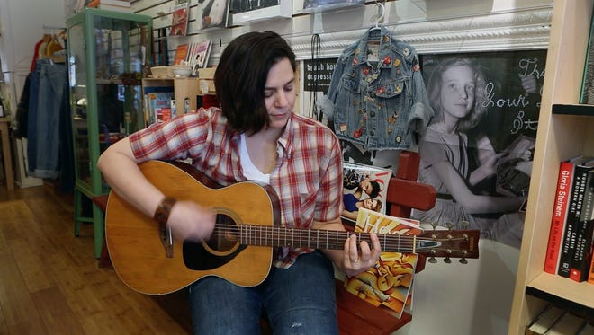 """Jennifer O'Connor, a local singer-songwriter and co-owner of Kiam Records Shop in Nyack, will release her new album, """"Surface Noise,"""" on March 4, the same day she plays the Tarrytown Music Hall."""