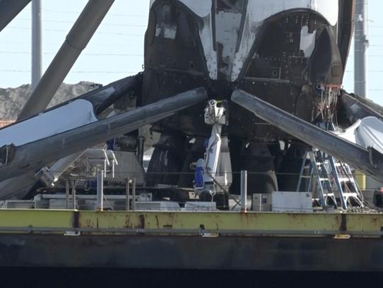 spacex drone ship landing - photo #22