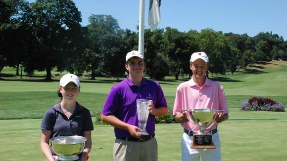 Morgan Hennesy, Addison Cilmi and Phil Hough.