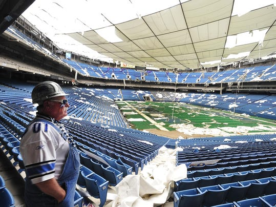 Image result for The Pontiac Silverdome