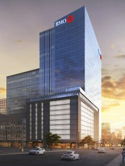 Commercial real estate developer Mark Irgens' latest large downtown Milwaukee project is the BMO Harris Bank tower.