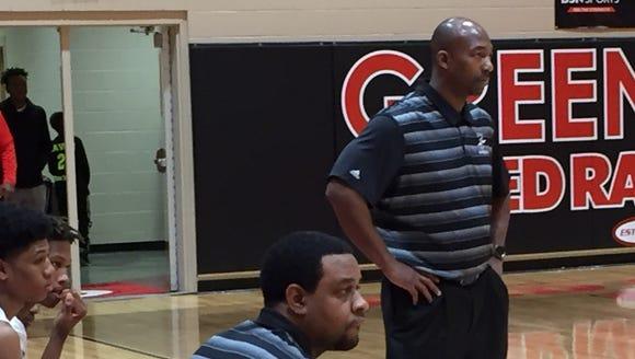 Greenville Tech boys basketball coach Clay Breazeale,