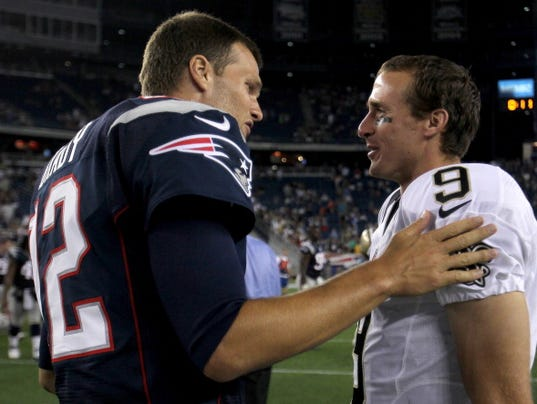 New Orleans Saints v New England Patriots