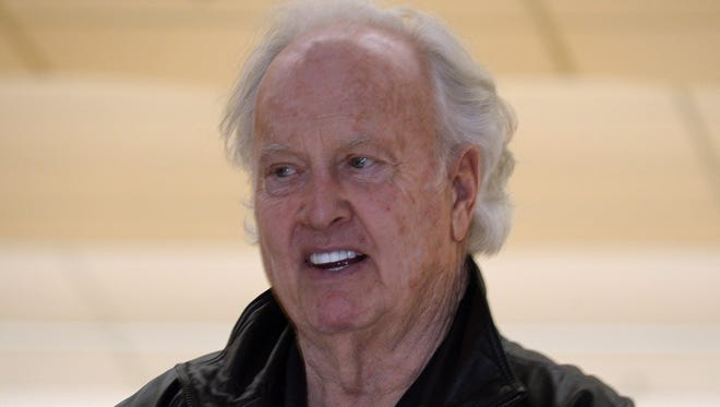 Jan 31, 2013, Kenner, LA, USA; Paul Hornung at the eighth annual NFL Foundation Celebrity Bowling Classic at the AMF All-Star Lanes.