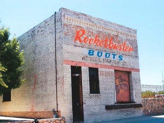 871229bcd00 Rocketbuster Boots to remake shop facade