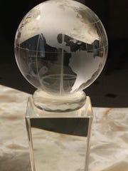Hall of Fame award presented to Hillard Grossman on Friday night.