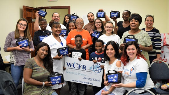 Worldwide Community First Responder Inc volunteers