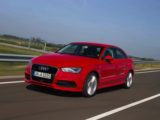 The 2015 Audi A3 TDI sedan offers a high-output, efficient 2.0 clean diesel engine.