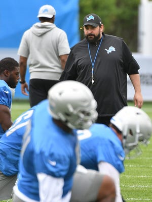 Lions coach Matt Patricia has been putting an early emphasis on goal-line situations so far in training camp.