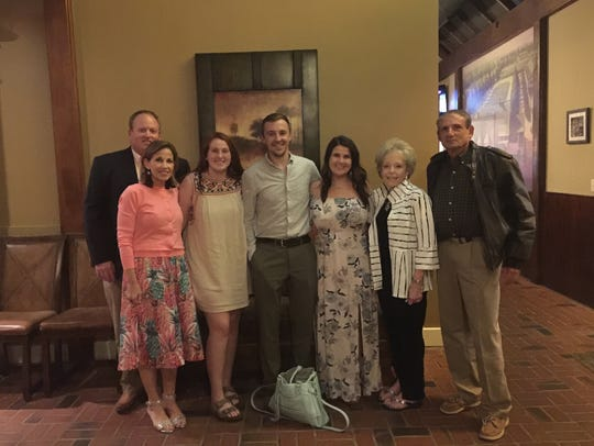 The Silvermans took the Whites out to dinner Memorial