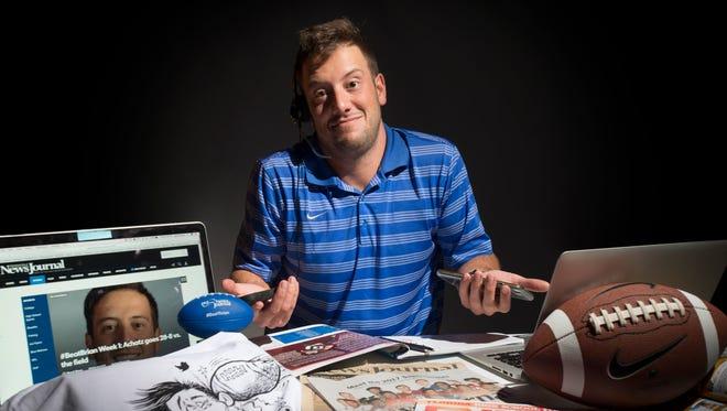 #BeatBrian - with Pensacola News Journal sports reporter Brian Achatz.  August 30, 2017.