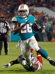 Lamar Miller could have a bigger role if he moves on