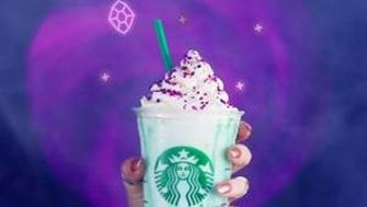 The Crystal Ball Frappuccino.