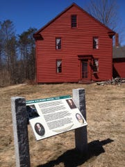 The 1765 home of Reuben Colburn in Pittston, Maine, is 10 miles south of Augusta. It was here, near the banks of the Kennebec River, that Colburn built about 200 wooden bateaux for an expedition led by Benedict Arnold.