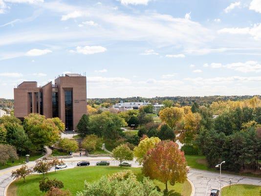 UWGB campus panorama