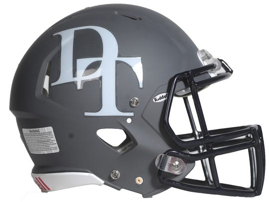 Dallastown football helmet.