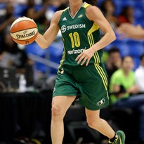 Seattle Storm in playoffs despite third straight loss