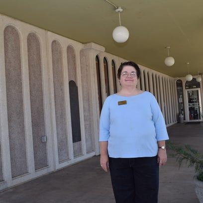 Laura-Ellen Ayres, director of the Rapides Parish Library