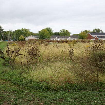 This vacant lot on the southeast end of Madison Street,