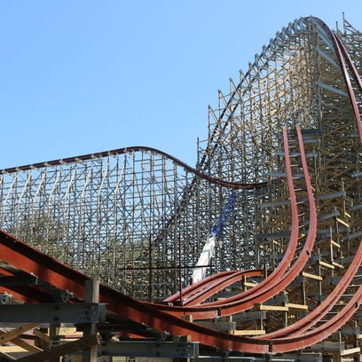 Steel Vengeance, the world's first hybrid coaster to