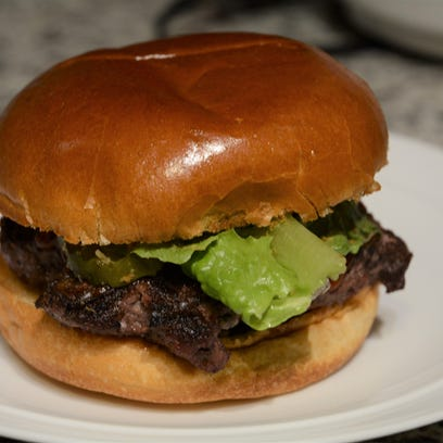 Hamburger made from dry-aged ground beef purchased