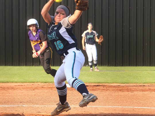Siegel's Veronica Westfall was named to the TSWA Class AAA All-State Softball Team on Friday.