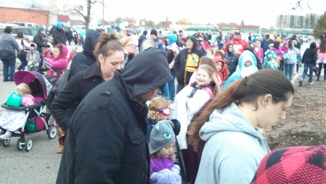 More than 1,000 people participated in last year's Trunk or Treat in downtown Garden City.