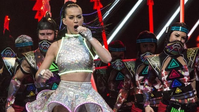 Multi-platinum selling singer Katy Perry brought her high-octane stage performance to the KFC YUM! Center on Saturday night. Aug. 16, 2014