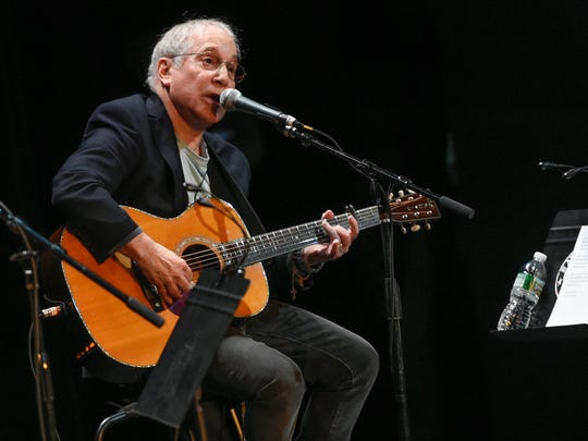 Paul Simon in a sold-out show at the Ryman Auditorium, May 2016.