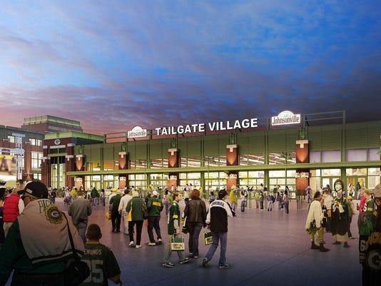Johnsonville Tailgate Village, Lambeau Field