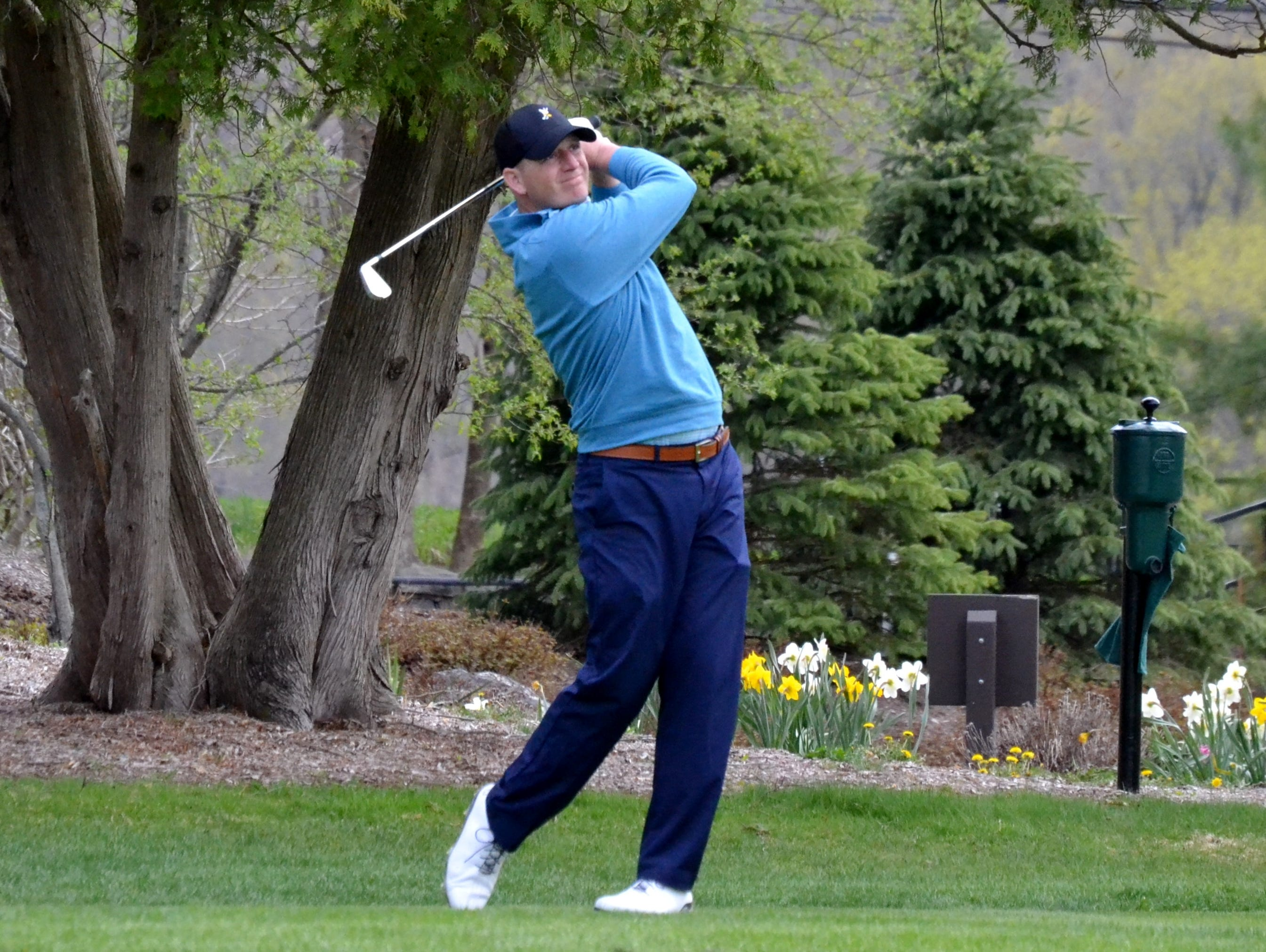 Winged Foot assistant pro Grant Sturgeon made the cut at the 2009 PGA Championship at Hazeltine National.