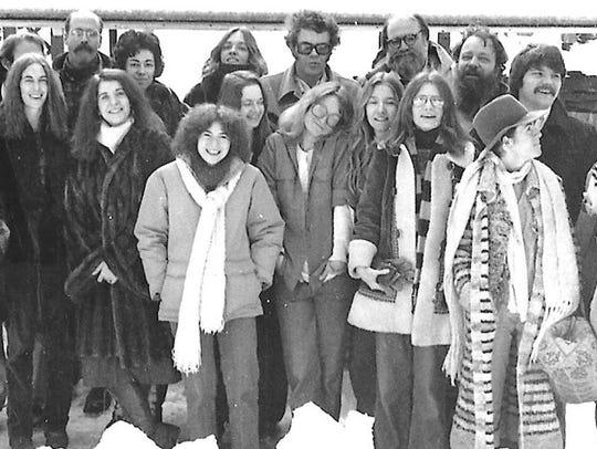 Th e 1979 faculty and graduates of the MFA Program