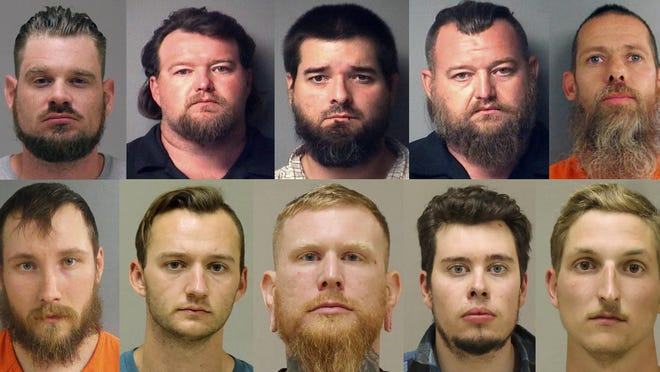 Authorities charged these men in an alleged scheme that involved months of planning and even rehearsals to snatch Gov. Gretchen Whitmer from her vacation home.